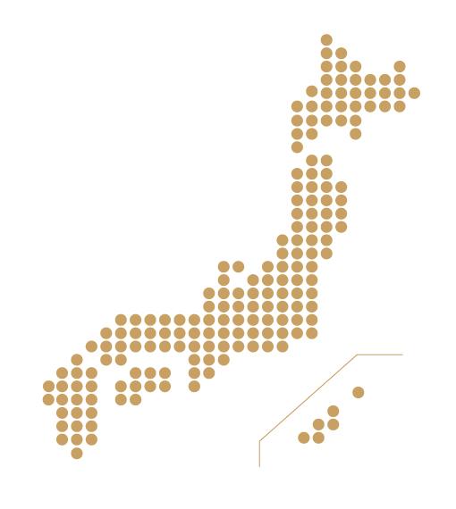 日本 分布図