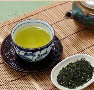 蒸し製法の日本茶