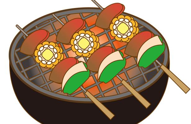 高温調理の食品 串焼き