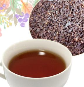 紅茶と茶葉